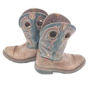 Tony Lama RR Style 3208 Western Cowboy Boots 8.5 D